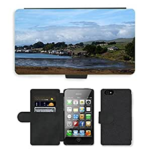 hello-mobile PU LEATHER case coque housse smartphone Flip bag Cover protection // M00137304 Bodega Bay Ave Paseo Harbor // Apple iPhone 4 4S 4G