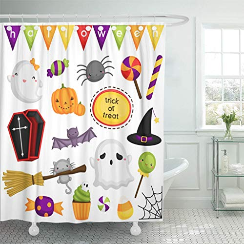 Emvency Shower Curtain Sets Waterproof 66