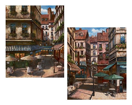 2 La Bistro Italian Cafe Posters Coffee Decor 8x10 Wall Art