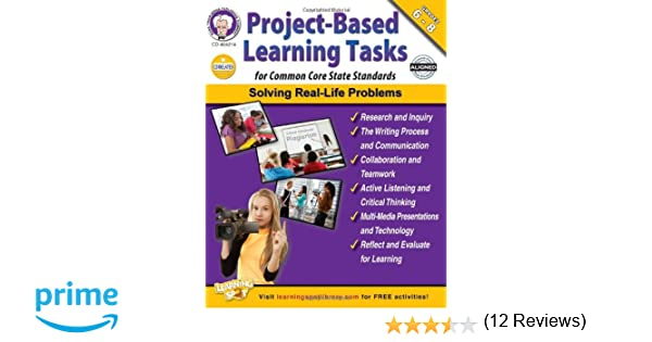 Project-Based Learning Tasks for Common Core State Standards ...