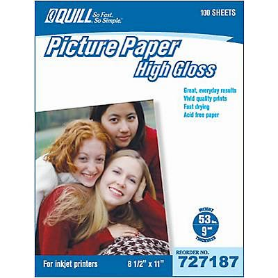 Pluma marca Premium - Papel fotográfico para impresoras de ...