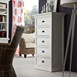 NovaSolo Halifax Chest of Drawers, Large, White