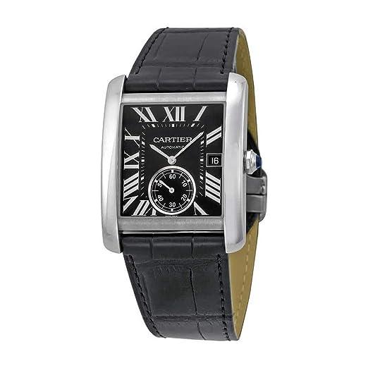 Cartier Tank MC - Reloj (Reloj de Pulsera, Masculino, Acero Inoxidable, Acero
