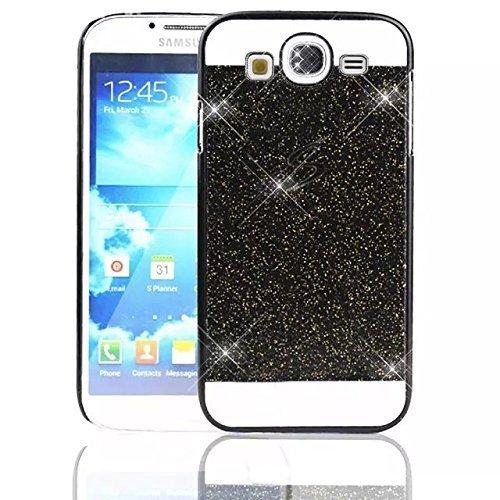 Funda Samsung Galaxy Grand Neo Plus Carcasa , Sunroyal ® Bling de lujo de Bling Brillantes PC Carcasa Trasera Flexible Delgada Ultra Thin Parachoque Diamantes Protector Contraportada Resistente a los  Color4