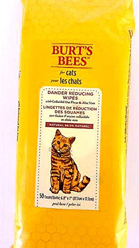 Burts Bees Dander Reducing Cat Wipes Size:Pack of 2