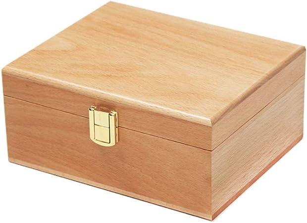 XGYUII Caja de Herramientas de cremación Urnas de Madera Urnas de Tanque funerario para Adultos para Cenizas de Seres Queridos Caja de ataúd Restos cremados (19 * 16 * 8.5CM): Amazon.es: Hogar