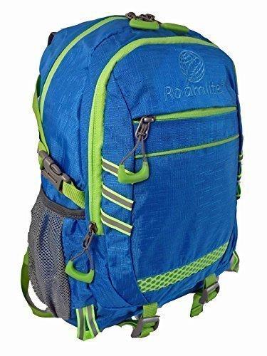 23 Litre Hi Vis Viz Visibility Backpack Rucksack Bag Roamlite RL47B (Light Blue)
