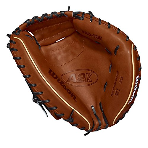 Wilson A2K M1 33.5' Catcher's Baseball Mitt - Right Hand Throw