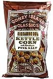 Coney Island Classics Himalayan Pink Salt Cinnamon Bun Kettle Corn Gluten Free Non GMO Vegan Popcorn 8 Oz Large Bag (12 Count)
