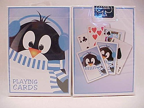 1 Deck Bicycle Penguin Holiday Standard Poker Playing Cards New In Box