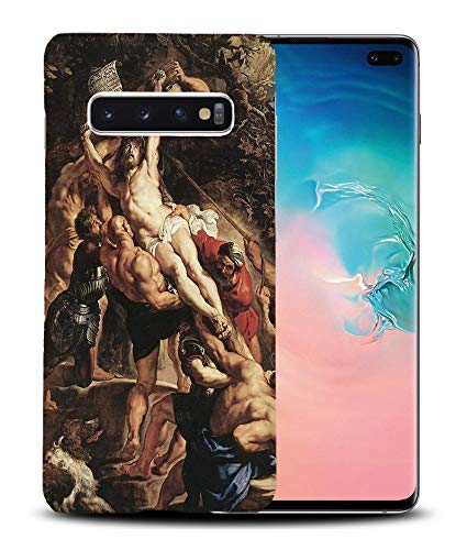 Foxercases Designs #1 - Peter Paul Rubens - Elevation of The Cross I Art Art Painting Sketch Hard Phone Case Cover for Samsung Galaxy S10