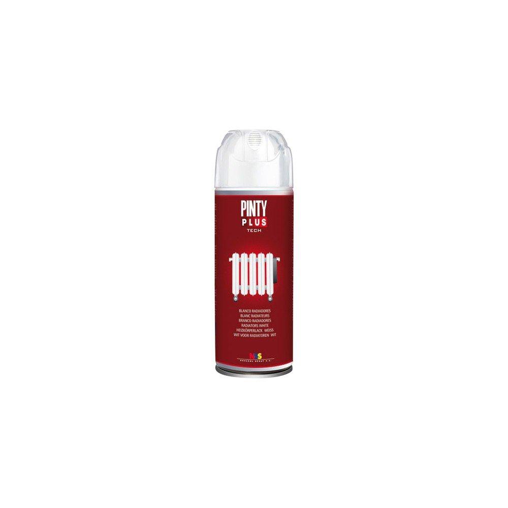 Pintyplus tech - Pintura en Spray para Radiadores520cc, Blanco: Amazon.es: Bricolaje y herramientas