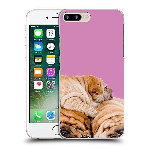 GoGoMobile Coque de Protection TPU Silicone Case pour // Q05540618 3 shar pei Bronzo // Apple iPhone 7 PLUS