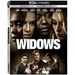 WIDOWS arrives on 4K Ultra HD, Blu-ray and DVD on February 5 from Twentieth Century Fox