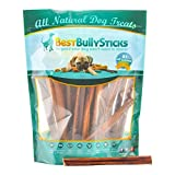 6 Inch Thin Odor Free Bully Sticks - 25 Pack