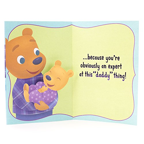 Hallmark Father's Day Greeting Card for Daddy (First Father's Day Cute Bears) Photo #4