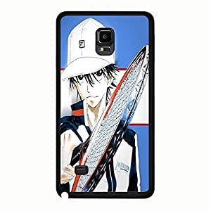 Hispter Samsung Galaxy Note 4 Cover,The Prince of Tennis Phone Case Original Japan Anime&Comic Cool Fashion Prince of Tennis Back Case Cover Anime News Network Series