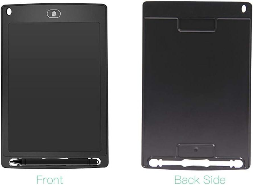 Kinder Staffelei 8,5-Zoll-LCD-Schreibtafel Elektronische Schreibtafel Tragbare Digitale Handschrift Pad for Kinder in Autos Kinderzimmer Schule für Kinder (Color : Black) Black