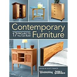 Contemporary Furniture: 17 Projects You Can Build