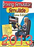 Driving Simulation and Road Rules Test Preparation - 2013 SimuRide Home Edition - Driver Education [Interactive DVD] by Aplusb Software Corporation