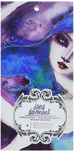 - American Crafts Jane Davenport Mixed Media 2 Journal Tattoo Book
