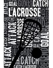 Lacrosse Journal: Cool Blank Lined Lacrosse Lovers Notebook For Player and Coach