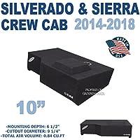 Chevy Silverado & GMC Sierra Crew Cab 10 Subwoofer Box
