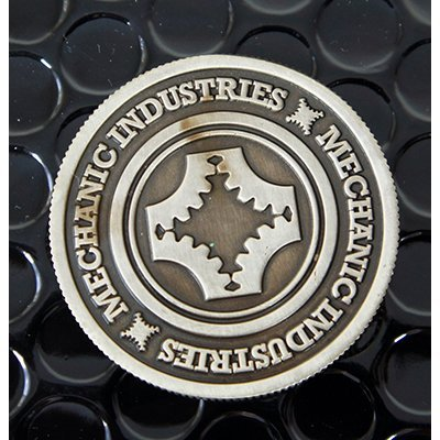 Half Dollar Coin (Gun Metal Grey) by Mechanic Industries - Trick: Toys & Games