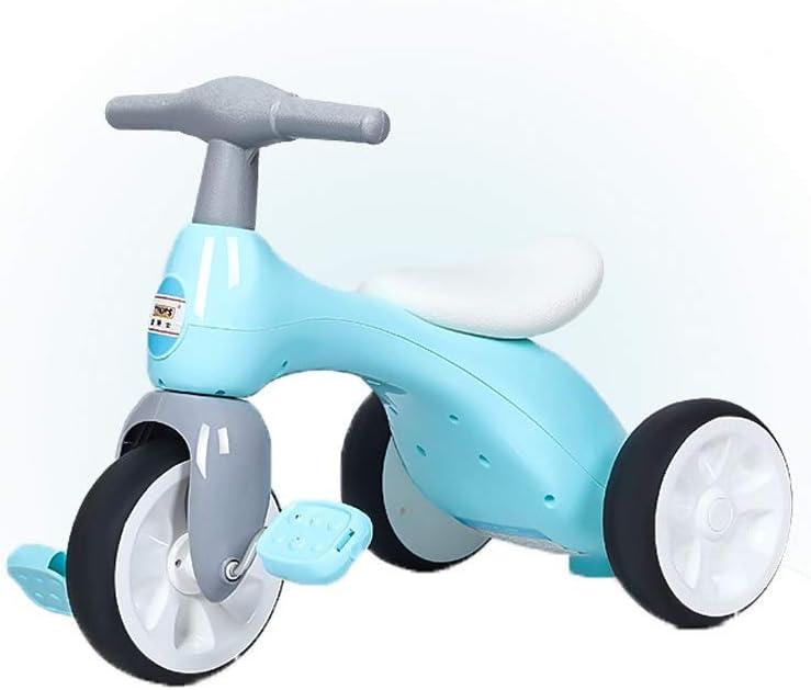 LRHD Triciclo for niños, bicicletas balance bebé Walker con los pedales, caja de almacenamiento, peso ligero, conveniente for de 1-2-3 años niños del jinete del triciclo, 3 ruedas de bicicletas de jug