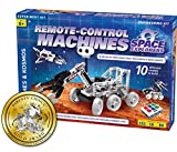 Thames & Kosmos Remote-Control Machines: Space Explorers   Science & Engineering Stem Experiment Kit   Build 10 Real Working Models   Parents' Choice Gold Award Winner
