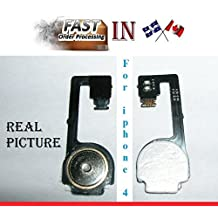 Apple iphone 4 4g home button flex cable Ribbon Replacement Repair part AAA NEW bouton menu iphone4 iphone4g piece