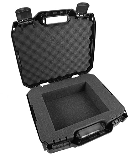 CASEMATIX Projector Case Made For Epson Pro EX9220, EX9210, EX9200, EX7260, EX7240, EX3260, and EX3240 WUXGA, WXGA, SVGA Conference Projectors - Pre Cut Impact Absorbing Foam Compartment by CASEMATIX