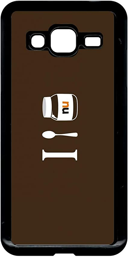 Coque samsung galaxy j3 2016 i love nutella: Amazon.fr: High-tech