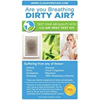Clean Vent Air Solutions Air Test Kit for Mold