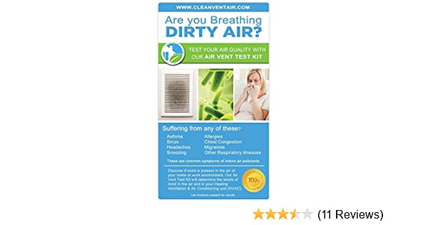 Amazon Clean Vent Air Solutions 1 Air Test Kit for Mold Home