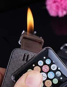 JIAO- Wrist Watch Style Cigarette Lighter Wearable Cigar Lighter (Random Color)