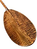 Decorative Hawaiian Paddle 50'' w/ T Handle - Curly Maple | #koa6076