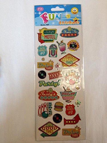 Fun Stickers Retro 989