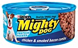 Mighty Dog Classic Chicken and Smoked Bacon Combo, 5.5-Ounce Cans (Pack of 24), My Pet Supplies