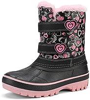 DREAM PAIRS Boys & Girls Waterproof Winter Snow B