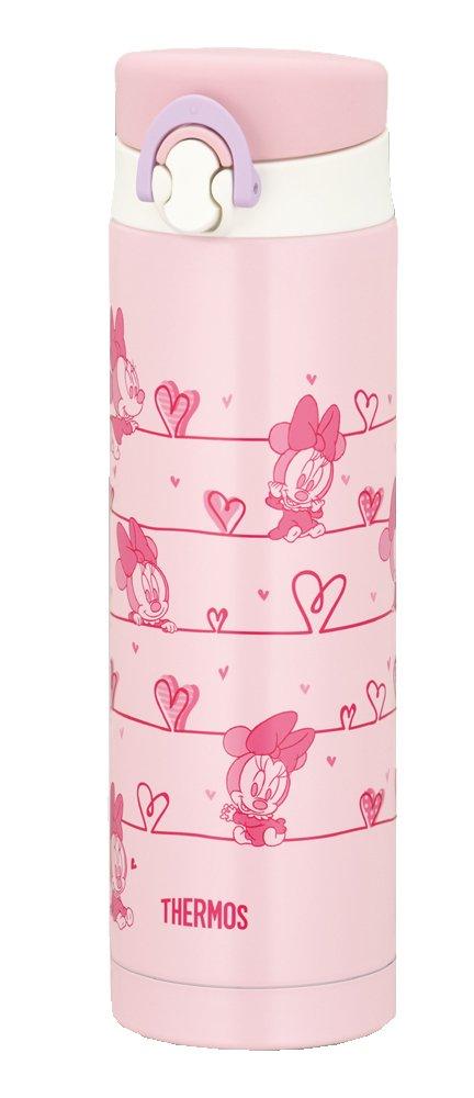 THERMOS BabyCare JNF-500DS-LP Pink Disney | Thermal Stainless Mug 0.5 liter ( 16.9 oz.) (Japanese Import)