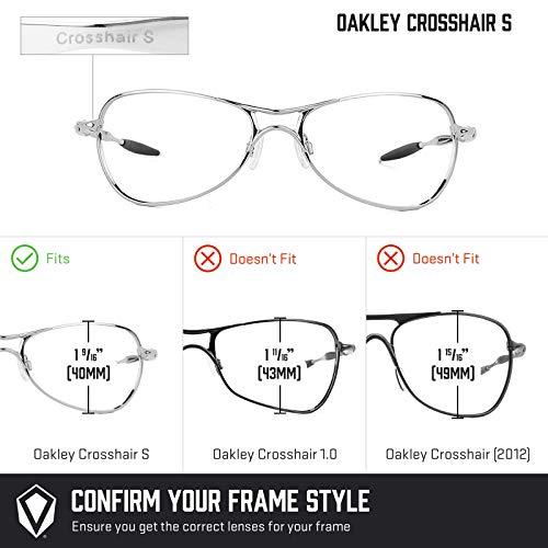 Repuesto Oscuro — Polarizados Lentes De Marrón Crosshair Oakley Opciones No Múltiples Para S 556vSqrcf7