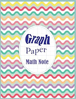 graph paper math note graph paper notebook grid pages 8 5 x 11