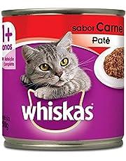 Ração Úmida Para Gatos Whiskas Lata Patê de Carne Adultos 290g