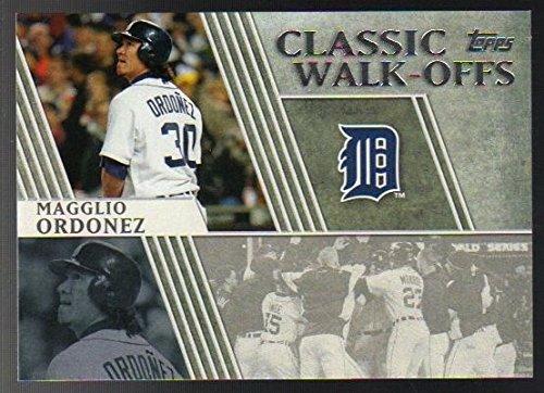 2012 Topps Series 1 Classic Walk-Offs CW 11 Magglio Ordonez Detroit Tigers - Magglio Ordonez Walk