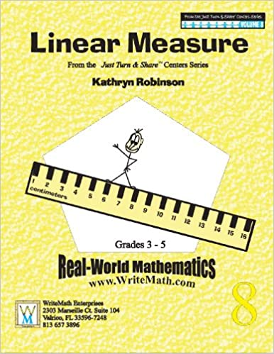 Linear Measure Worksheets | 3rd, 4th, 5th Grade Math (Just Turn ...