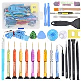 22 in 1 Precision Screwdriver Set with Magnetic Driver Kit, Repair Tool Kits With Portable Box for iPhone, iPad, iPod, iTouch, Cell Phone, Tablet, PC, Laptop, MacBook & other Electronics