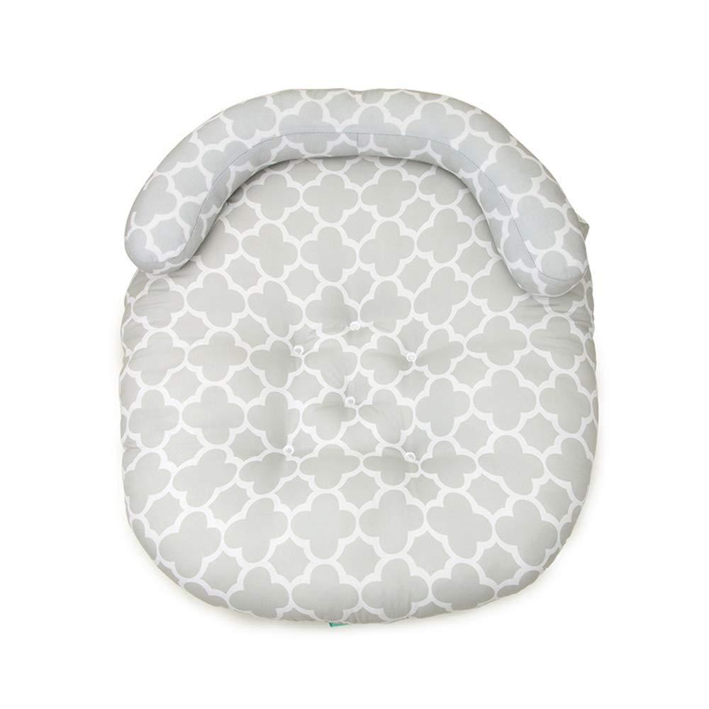 LOHOME Newborn Sleep Positioner Anti-Spitting Milk Pillow Portable Baby Sleeping Pad Cushion Mattress for Toddlers