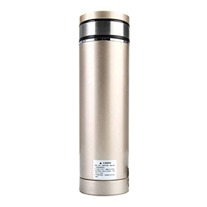 JiuErDP Copa de Coche de calefacción Inteligente Taza de Aislamiento Taza eléctrica Calentador de Agua del