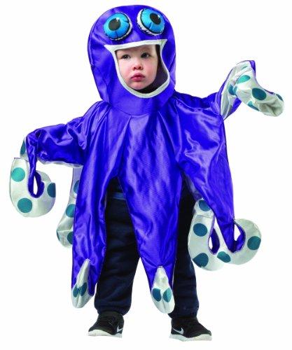 Rasta Imposta Baby's Octopus, Purple/Gray, 18-24 Months -